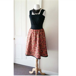 Women's Paisley Printed Cotton Skirt